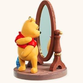 Hallmark 2008 Pound Pondering Winnie the Pooh - Pooh Mirror