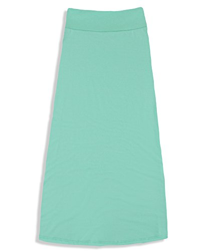 Free to Live Girls 7-16 Maxi Skirts - Great for Uniform (XL, ()