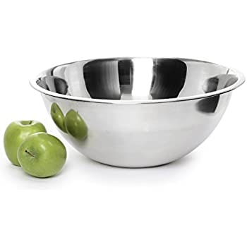 Ybmhome Heavy Duty Stainless Steel Quality Mixing Bowls for Cooking Baking Mixing and Serving 13 Inches 1176 (1, 8 Quart)