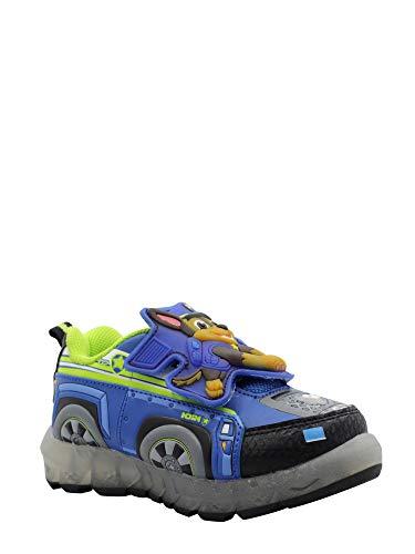 Patrol Shoes Sneaker - Paw Patrol Toddler Boys' Light-Up Athletic Shoe (10), Blue