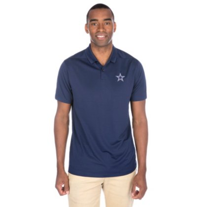 NIKE Men's Dry Victory Solid Polo Golf Shirt, College Navy/Black, Small
