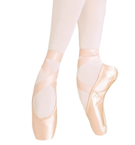 Bloch Womens European Balance Pointe Shoe Multi-colored