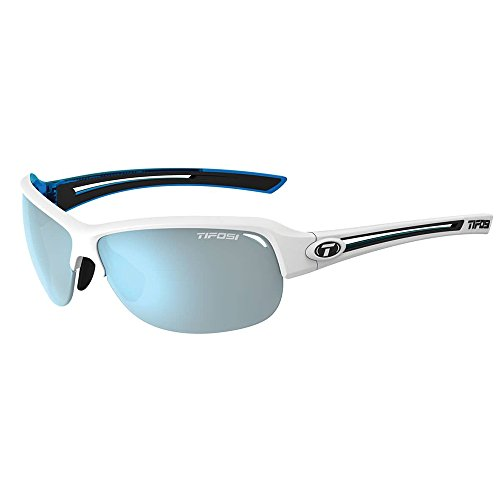Tifosi Optics Mira Sunglasses - Women's Skycloud/Smoke Bright Blue, One - Boulder Sunglasses