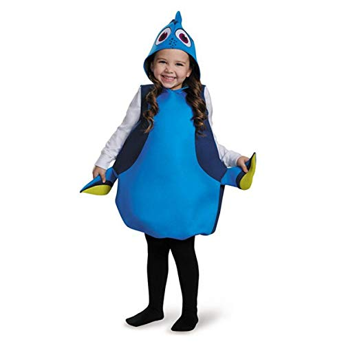 Disguise Dory Classic Finding Dory Disney/Pixar Costume, One Size Child, One -