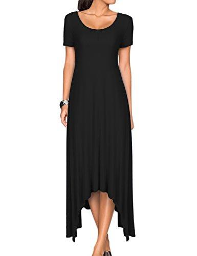 long black handkerchief dress - 1