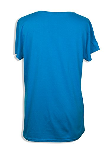 Coton Grillé Damen T-Shirt Türkis türkis