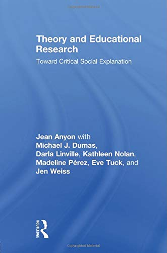 Theory and Educational Research (Critical Youth Studies)