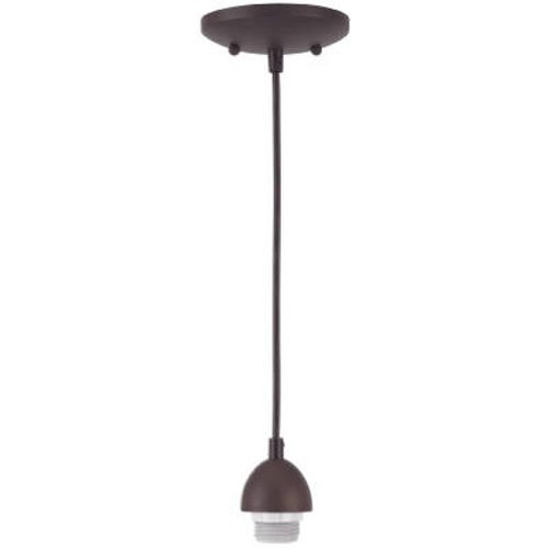 Westinghouse Lighting 70285 BRZ Mini Pendant Kit, Oil Rubbed Bronze ()