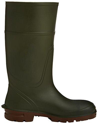 Dickies Safety Landmaster - Botas de agua de Abalorios hombre, color verde, talla 48.5 (13 UK) Verde