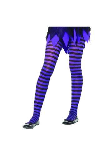 Striped Tights Halloween Costume (Leg Avenue Children's Striped Tights)