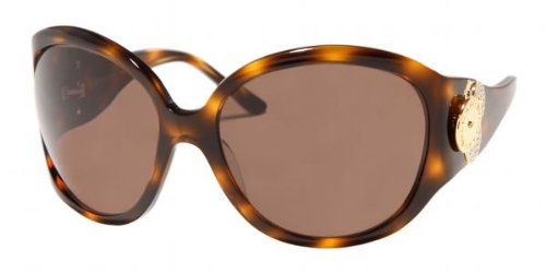 Bvlgari 8023b Dark Havana / Brown Sunglasses
