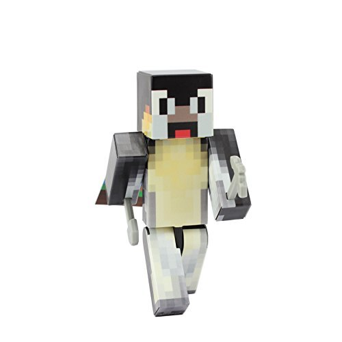 Endertoys Penguin Action Figure Toy  4 Inch Custom Series Figurines By