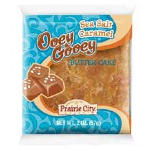 PRAIRIE CITY BAKERY OOEY GOOEY CARAMEL CAKE 10CT BOX