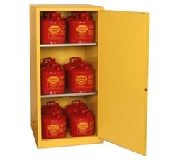 Eagle Compact/Workbench Flammable Liquids Safety Cabinet - 31-1/2 X31-1/2 X65