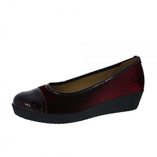 Bordo Basic Women's Flats Comfort Gabor Ballet Black 64 YzfwFwq