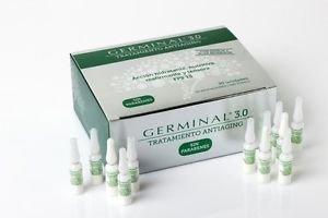 Nuevo Germinal 3.0 Tratamiento Antiaging 30 Ampollas Fast Shipping