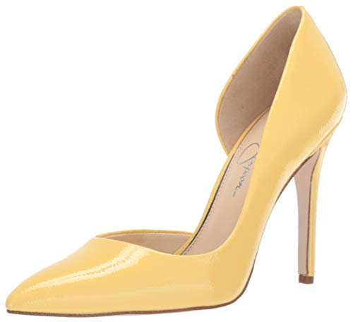 Jessica Simpson Women's PRIZMA Shoe, Pale Yellow, 5 M US (Jessica Simpson Yellow Dress)