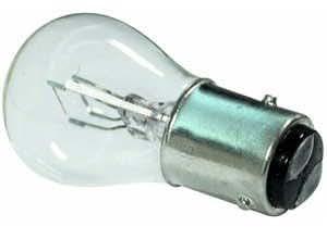 Double Contact Bulbs 566 - Bombillas para coche, 12V, 21/4W, BAZ, 15D, 2 unidades