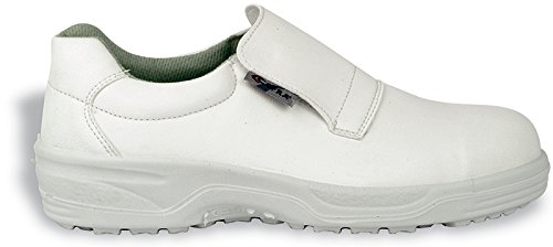 Zapatos de seguridad sintéticas blanco S2TG.37
