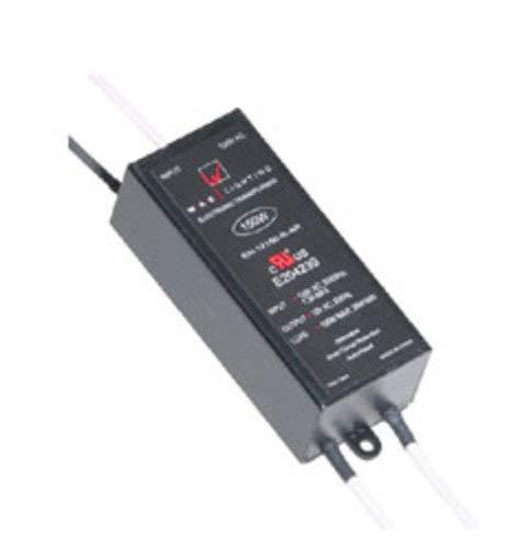 WAC Lighting EN-12100-R-AR Non Enclosed Low Voltage Electronic Transformer 120 Volt Primary 12 Volt Secondary 35 - 100 Watt