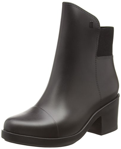 WoMen black Elastic Black 01003 Ankle Melissa Boots qPfpwdqO