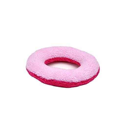 - Rascals Fleece Donut Squeaky Dog Toy, 9