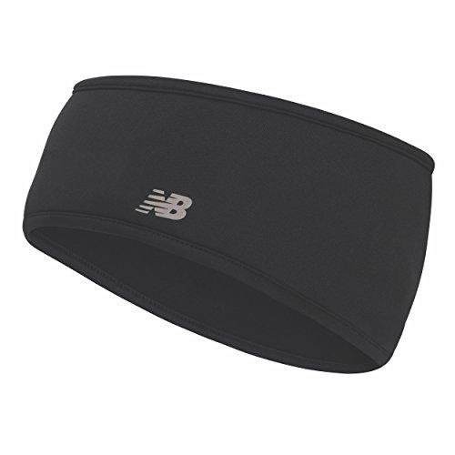 Fleece Headband (New Balance Unisex Fleece Headband, Black, One Size)