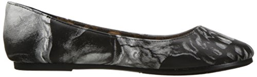Iron Fist Damen Slip On Schuhe Dead On Flat Grau