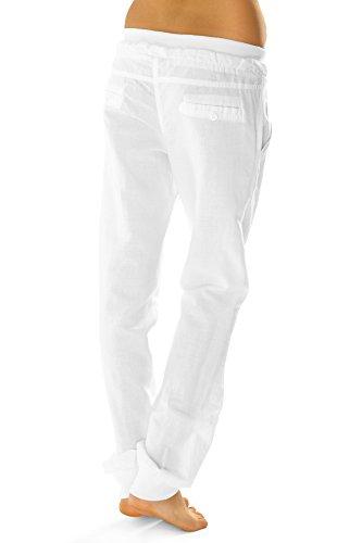 Pantalon Relaxed Magenta Uni Femme Bestyledberlin Violet d1gBCn