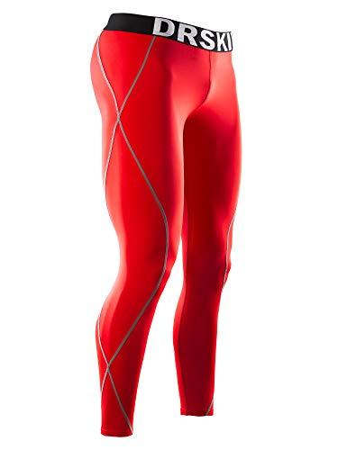 DRSKIN Men's Compression Pants Sports Tights