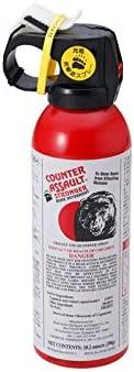 BE-TACKLE【正規輸入品】カウンターアソールト熊よけスプレーCA290&収納ケース + 熊よけ鈴リンリン