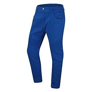 Men's Biker Denim Double Needle Jeans