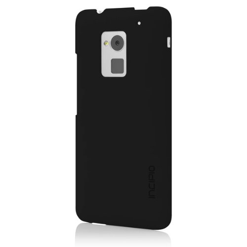 Incipio Feather Case for HTC One max - Retail Packaging - Black