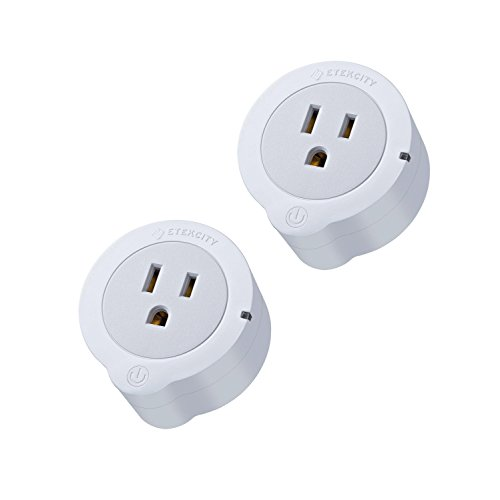 Etekcity 2 Pack Mini Smart Plug Outlet, WiFi Wi...