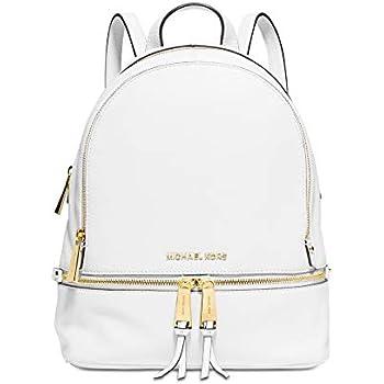 25c47e589bc9 Amazon.com: MICHAEL Michael Kors Rhea Zip Medium Leather Backpack ...