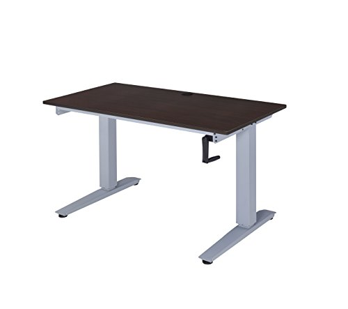 Acme Furniture Acme 92384 Bliss Height Ajustable Desk, Espresso, One Size For Sale