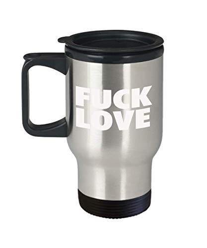 I Hate Valentine's Day Fuck Love Travel Mug