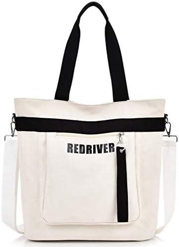 [スポンサー プロダクト]RAKEE ショルダーバッグ トート メッセンジャーバッグ 帆布 肩掛け斜めがけ 防水 バッグ a4サイズ 大容量 丈夫 3色
