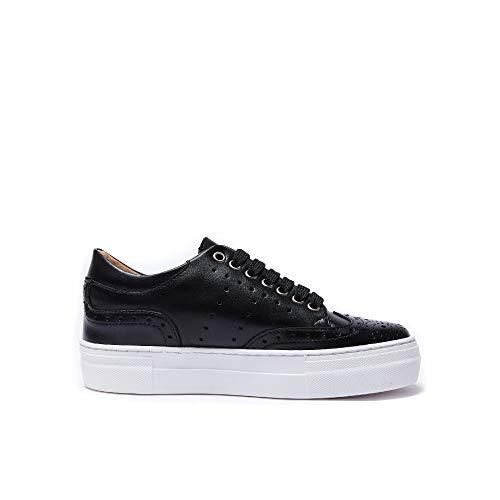 Con Sneaker Decorazione Nero Di Colore Wing Cap Black Donna Zxq7xn4Pw