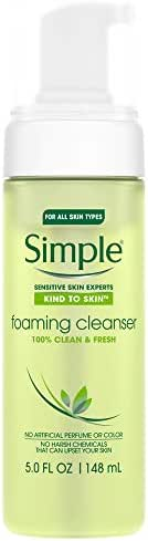 Facial Cleanser: Simple Kind to Skin Foaming Cleanser