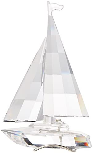 Swarovski Crystal Sailboat Retired 2004 183269