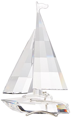 Swarovski Crystal Sailboat Retired 2004 #183269