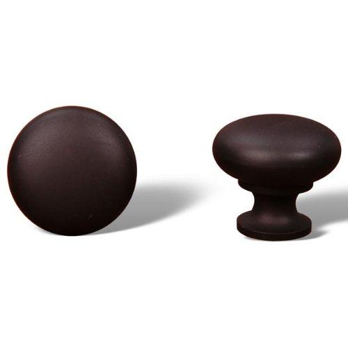 Rk International - Rki Thin Mushroom Knob (Rkick1118Rb)-Oil Rubbed Bronze