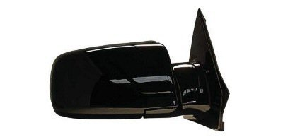 2000-2005 Chevrolet/Chevy Astro Van, GMC Safari Van Power Gloss Black Below Eyeline Type Rear View Mirror Right Passenger Side (2000 00 2001 01 2002 02 2003 03 2004 04 2005 05) (Power Mirror Van Black Safari)
