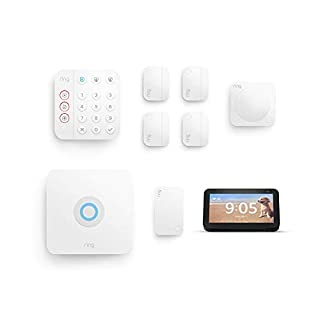 Ring Alarm 8-piece kit (2nd Gen) bundle with Echo Show 5
