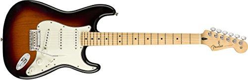 Stratocaster 3 Colour - Fender Player Stratocaster Electric Guitar - Maple Fingerboard - 3 Color Sunburst