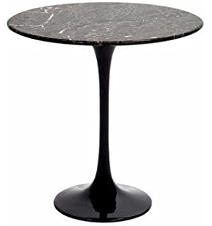 Amazoncom Designer Modern Eero Saarinen Style Tulip Table - Black marble saarinen table