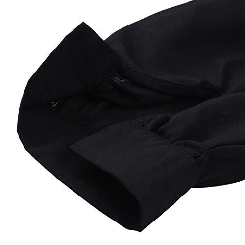 4 Rond Haut Taill Shirt T Manches Tee Femmes Grande Noir Shirt 3 Casual AIMEE7 Col Tops H8CwxvqSv