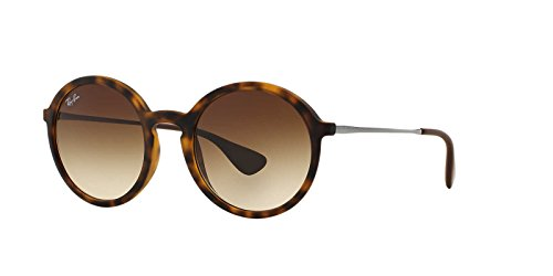 Ray-Ban Women's Youngster Round Sunglasses, Havana Dark/Brown, One - Youngster Sunglasses Ban Ray