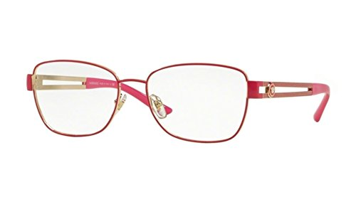 967bed817f Versace Women s VE1234 Eyeglasses Pale Gold   Fuxia 54mm